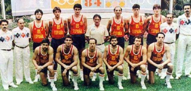 Selección española de baloncesto de Los Angeles 84