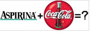aspirina y coca cola