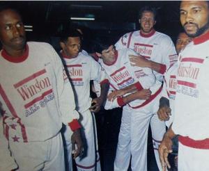 Combinado NBA Vs selección española en 1987