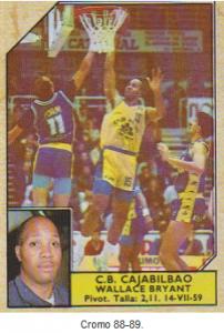 Cromo  Wallace Gordon Bryant  temporada ACB 97 - 9